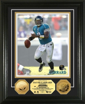 David Garrard 24KT Gold Coin Photo Mint
