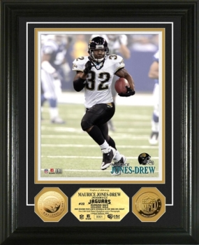 Maurice Jones-Drew 24KT Gold Coin Photo Mint