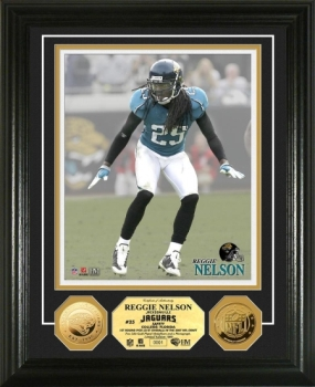 Reggie Nelson 24KT Gold Coin Photo Mint