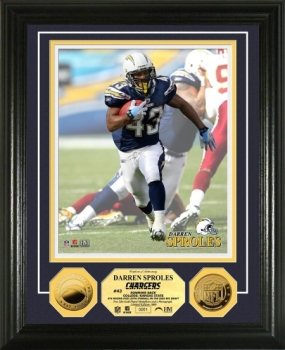 Darren Sproles 2010 24KT Gold Coin Photo Mint
