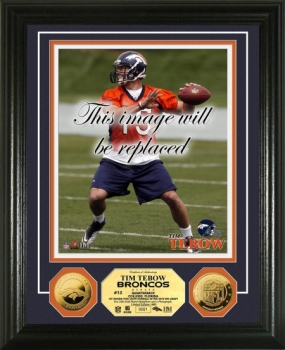 Tim Tebow 24KT Gold Coin Photo Mint