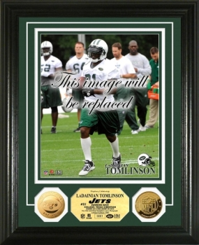 LaDanian Tomlinson 24KT Gold Coin Photo Mint