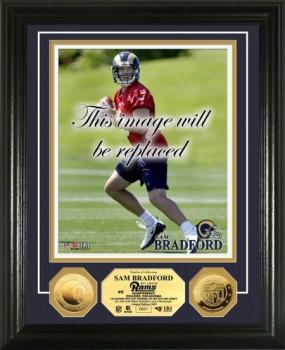 Sam Bradford 24KT Gold Coin Photo Mint