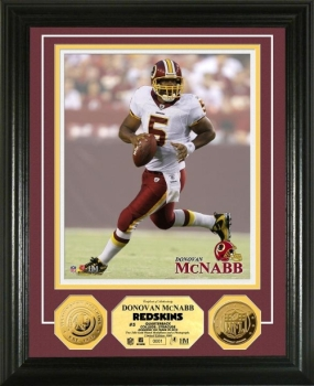 Donovan McNabb 24KT Gold Coin Photo Mint