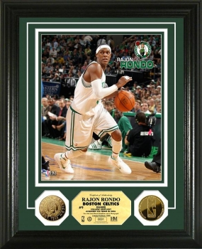 Rajon Rondo 24KT Gold Coin Photo Mint