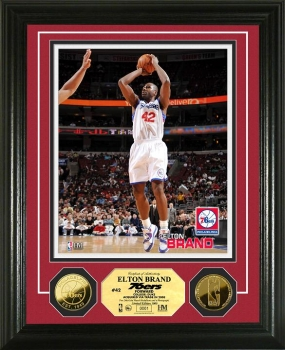Elton Brand 24KT Gold Coin Photo Mint