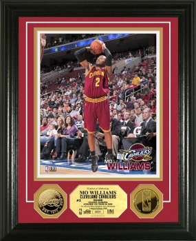 Mo Williams 24KT Gold Coin Photo Mint