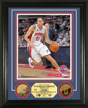 Tayshaun Prince 24KT Gold Coin Photo Mint