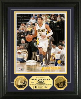 Danny Granger 24KT Gold Coin Photo Mint