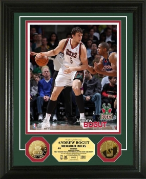 Andrew Bogut 24KT Gold Coin Photo Mint