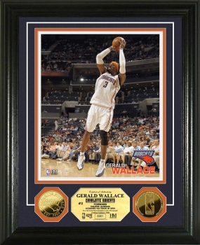 Gerald Wallace 24KT Gold Coin Photo Mint