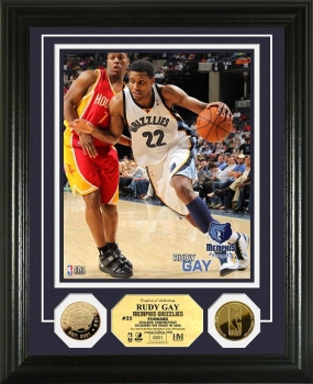 Rudy Gay 24KT Gold Coin Photo Mint