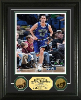 Kevin Love 24KT Gold Coin Photo Mint
