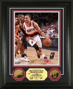 Brandon Roy 24KT Gold Coin Photo Mint