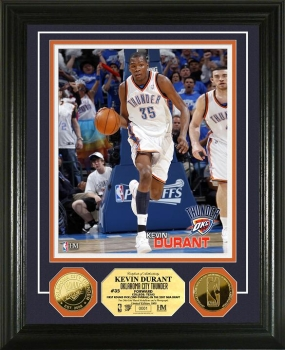 Kevin Durant 24KT Gold Coin Photo Mint