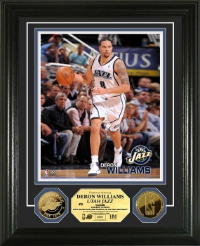 Deron Williams 24KT Gold Coin Photo Mint