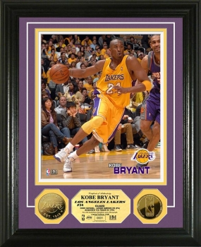 Kobe Bryant 24KT Gold Coin Photo Mint