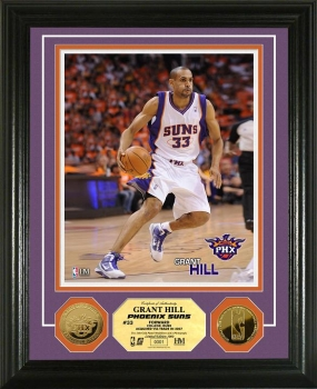 Grant Hill 24KT Gold Coin Photo Mint