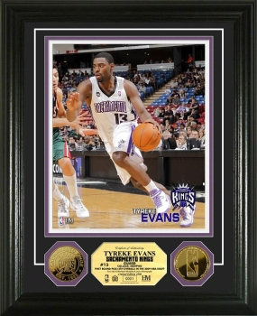 Tyreke Evans 24KT Gold Coin Photo Mint
