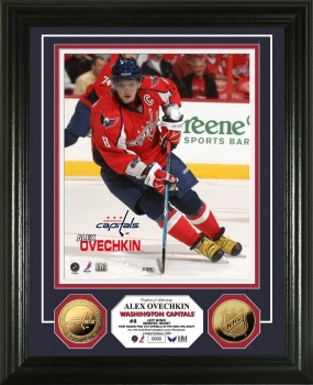 Alex Ovechkin 24KT Gold Coin Photo Mint