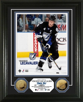 Vincent Lecavalier 24KT Gold Coin Photo Mint