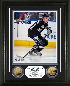 Steven Stamkos 24KT Gold Coin Photo Mint