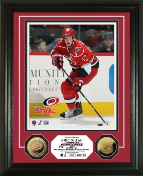 Eric Staal 24KT Gold Coin Photo Mint