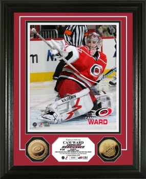 Cam Ward 24KT Gold Coin Photo Mint