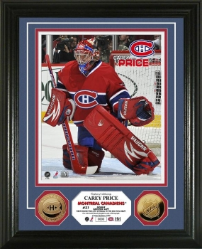 Carey Price 24KT Gold Coin Photo Mint