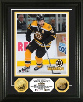 Patrice Bergeron 24KT Gold Coin Photo Mint