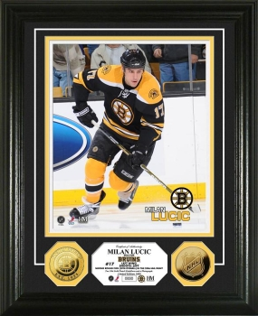 Milan Lucic 24KT Gold Coin Photo Mint