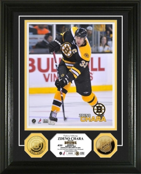 Zdeno Chara 24KT Gold Coin Photo Mint