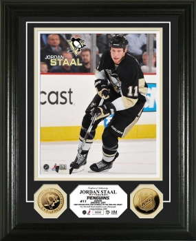 Jordan Staal 24KT Gold Coin Photo Mint