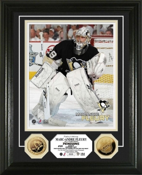 Marc-Andre Fleury 24KT Gold Coin Photo Mint
