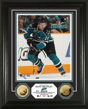 Dany Heatley 24KT Gold Coin Photo Mint