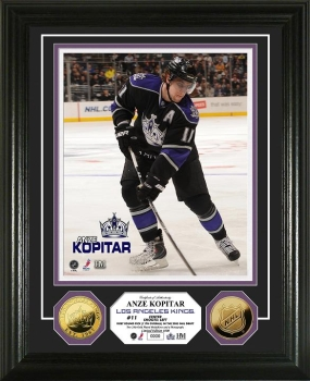 Anze Kopitar 24KT Gold Coin Photo Mint
