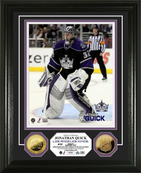 Jonathan Quick 24KT Gold Coin Photo Mint