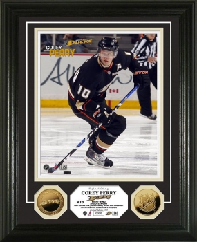 Corey Perry 24KT Gold Coin Photo Mint