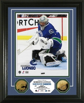 Roberto Luongo 24KT Gold Coin Photo Mint