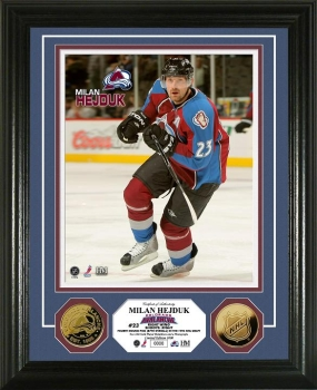 Milan Hejduk 24KT Gold Coin Photo Mint