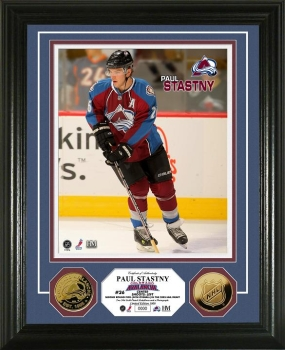 Paul Stastny 24KT Gold Coin Photo Mint