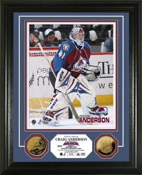 Craig Anderson 24KT Gold Coin Photo Mint