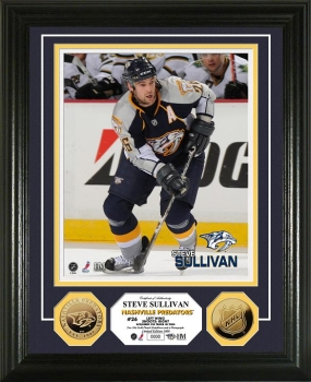 Steve Sullivan 24KT Gold Coin Photo Mint