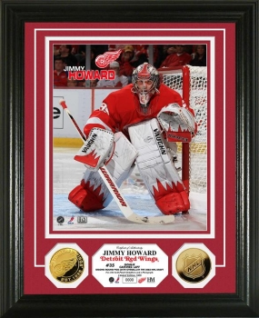 Jimmy Howard 24KT Gold Coin Photo Mint