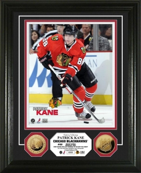 Patrick Kane 24KT Gold Coin Photo Mint