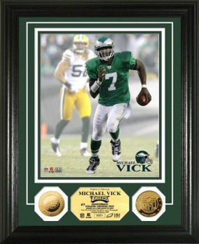 Michael Vick 24KT Gold Coin Photo Mint