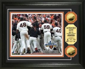 San Francisco Giants '10 N.L West Division Celebration 24KT Gold Coin Photo Mint