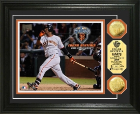 San Francisco Giants 2010 World Series MVP 24KT Gold Coin Photo Mint