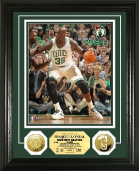 Shaquille O'Neal 24KT Gold Coin Photo Mint
