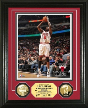 Luol Deng 24KT Gold Coin Photo Mint
